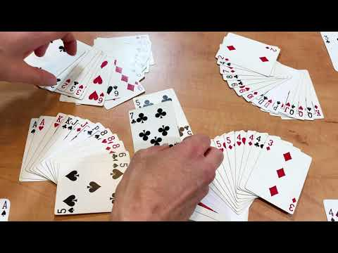 How to play a**hole - card game - 60 card deck