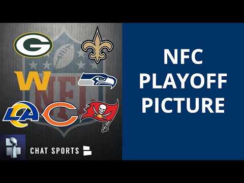 Nfc playoff picture, schedule, bracket, matchups, dates and times for 2021 nfl playoffs