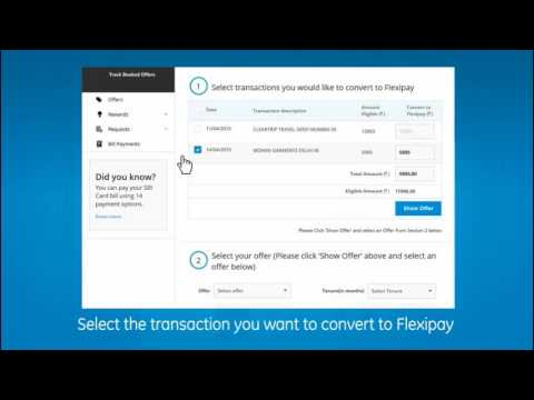 How to convert big credit card purchases into emi using flexipay