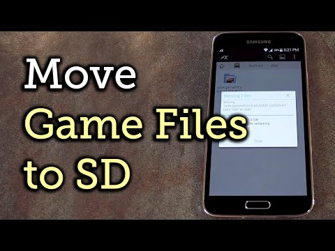 Move large game files to your sd card to free up space [how-to]
