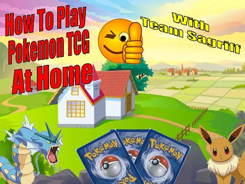 How to play pokemon tcg at home with family and friends