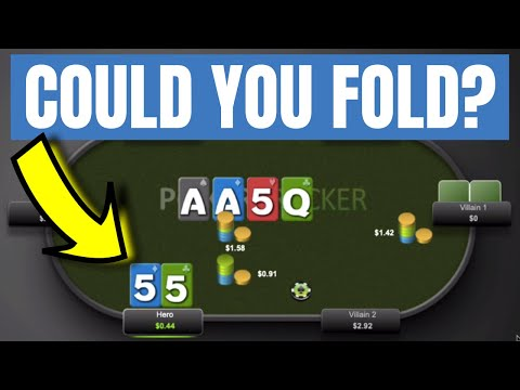 99% of poker players can't fold this hand