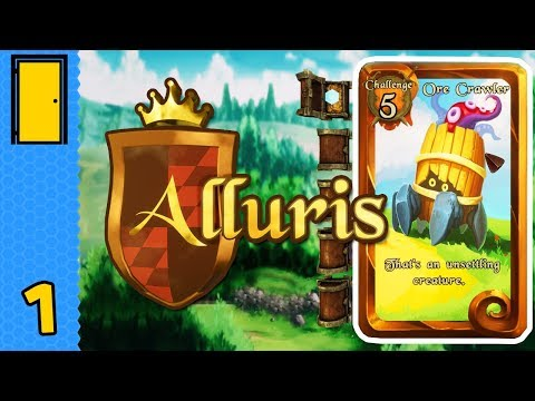 Play your cards right | alluris - part 1 (card-based rpg)