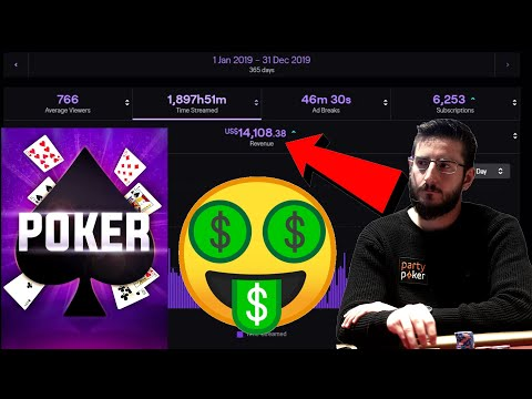 How much do twitch poker streamers really make?