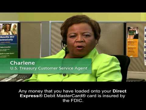 How can i use my direct express® card?