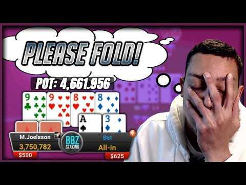Bluffing with my tournament life on the line! - $1,050 high roller club