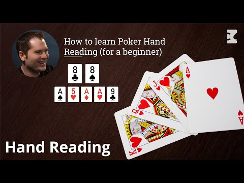 Poker strategy: how to learn poker hand reading (for a beginner)