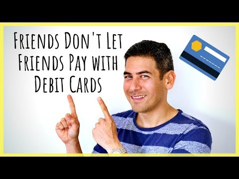 Avoid using a debit card for purchases! | protect your money while traveling & in your daily life