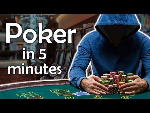 Poker in 5 minutes - learn about poker quickly