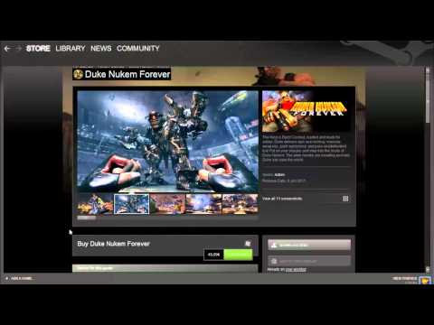 How to buy games from steam (hd)