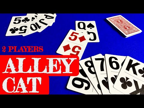 How to play alley cat - 2 player card game (fan submission)