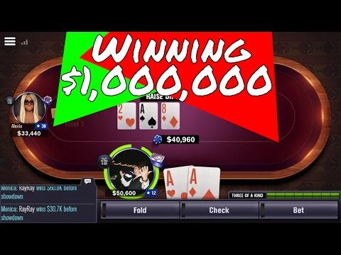 How to win $1,000,000 (world series of poker) wsop app game