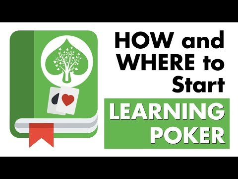 How and where to start learning poker - poker tips