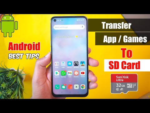 How to move all apps & games to sd card   working all android smartphone