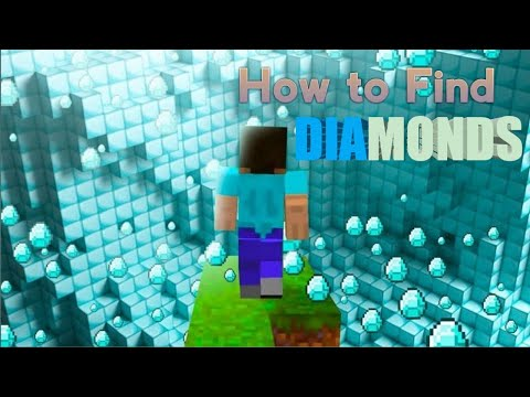 How to find diamond ultra fast in minecraft