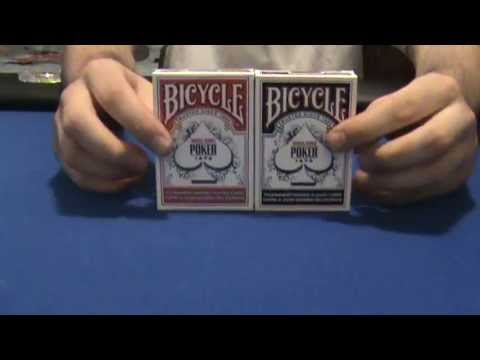 Bicycle world series of poker paper playing cards