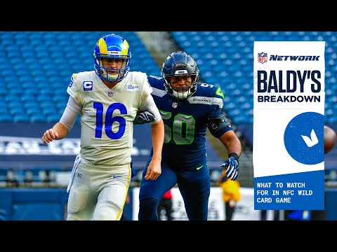 What to watch for in seahawks-rams nfc wild card game | baldy's breakdown