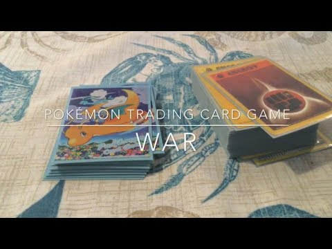 How to play pokemon cards alone: war