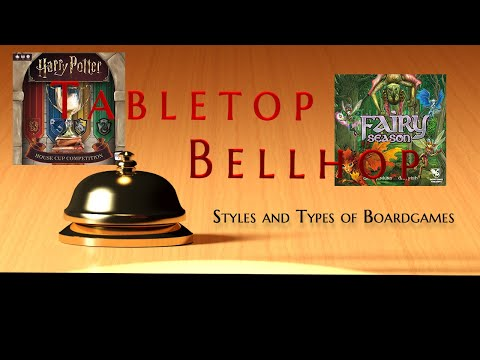 What are the different styles and types of board games? - tabletop bellhop gaming podcast ep 121