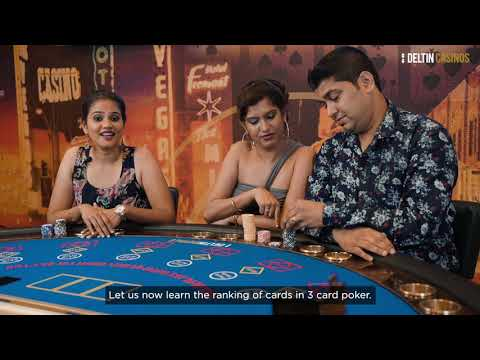 Learn to play | 3 card poker | deltin casinos