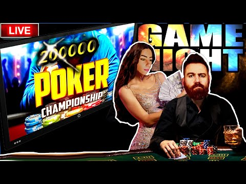 🔴 trying to beat our last poker championship win | tts available!