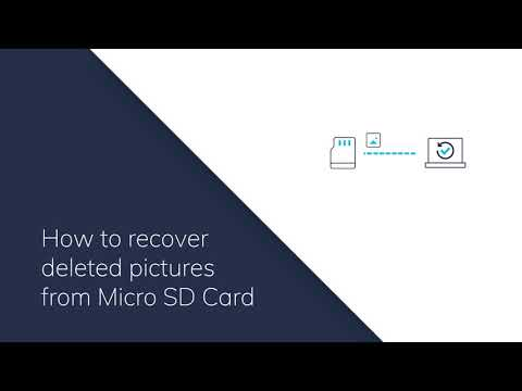 How to recover deleted pictures from micro sd card?