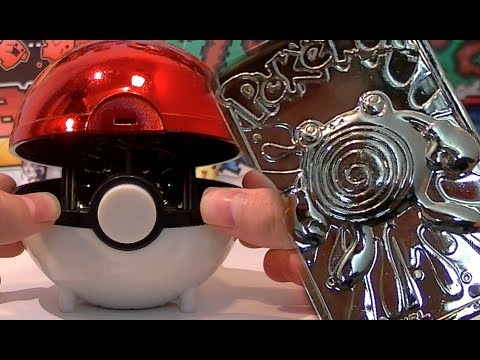 Opening a limited edition 23k gold plated poliwhirl pokemon card
