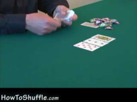 Poker board cards (flop) - how to deal poker