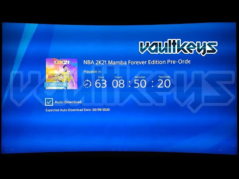 How to preorder nba 2k21 mamba forever edition for free? ps4/ps5