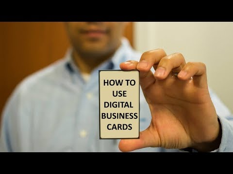 How to use digital business cards for your business