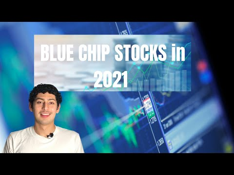 What are blue chips? (stock vid: 3)