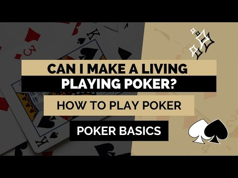 Can i make a living playing poker? | how hard is it to play poker for a living?
