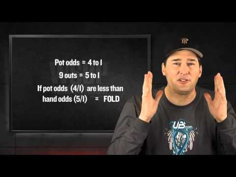 Wsop academy (chapter 3-lesson 03) - determining pot odds