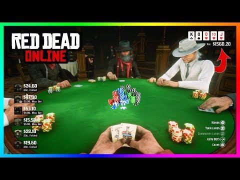 Red dead online - the best new way to make money: poker! how to win easy, payouts & more! (rdr2 dlc)