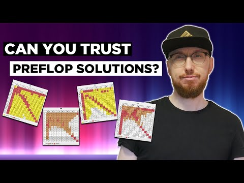 How much can you trust your preflop solutions?