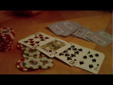 Amateur poker night at my parent's house. what not to do when playing poker. part 2. 8-9 suited.