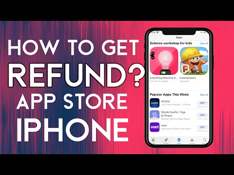 How to refund apple purchases?