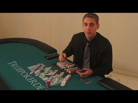How to deal poker - how to cut chips - lesson 5 of 38
