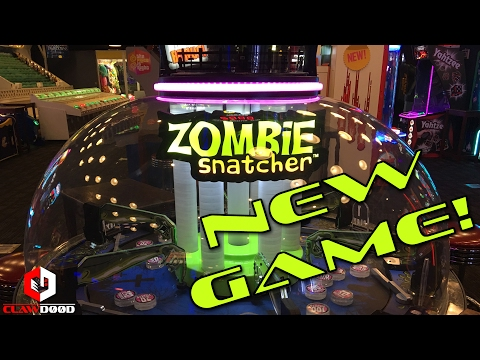 💀 new zombie snatcher arcade game @ dave and busters | clawd00d