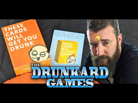 These cards will get you drunk - the drunkard games
