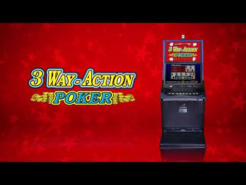 3 way action® poker by igt - game play video