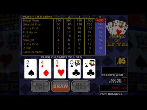 How to win at video poker and find the best poker game (tech4truth episode 5)