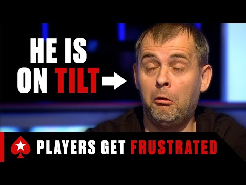 When poker players get frustrated ♠️ pokerstars