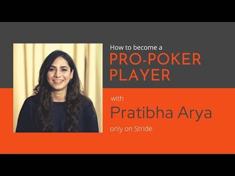How to become a professional poker player | stride careers