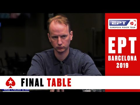 Final table ♠️ ept barcelona 2019 - main event (cards-up!) ♠️ pokerstars