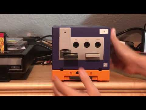 Gamecube gameboy player memory card startup disc