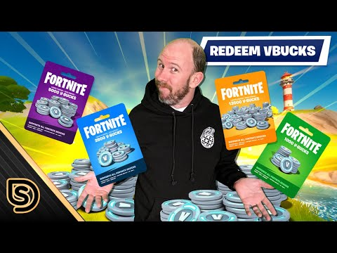 How to redeem fortnite gift cards (feat. squatingdog)