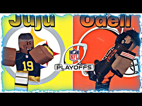 Nfl wild card playoffs in roblox football fusion must watch!!!