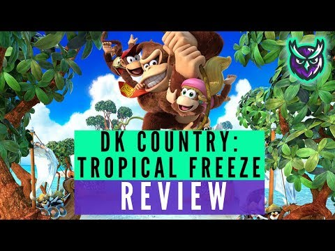 Donkey kong country tropical freeze nintendo switch review