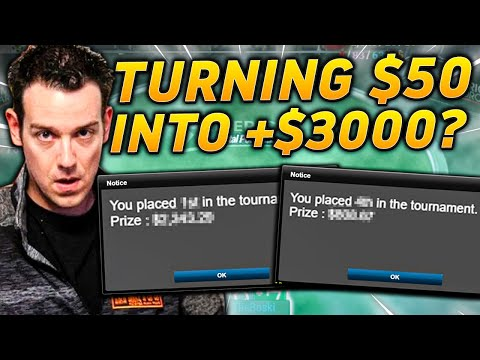 How to win an online poker tournament. must see!